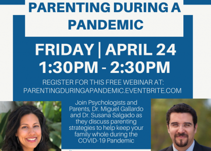 Parenting during the Pandemic