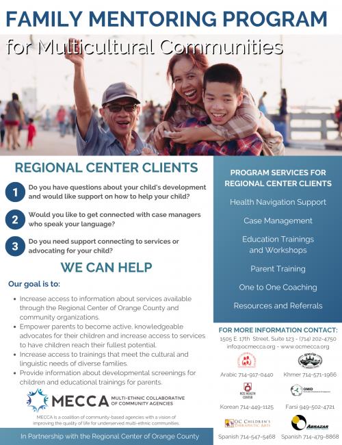Family Mentoring Program Flyer V1