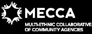 MECCA Logo White